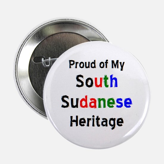 "south sudanese heritage 2.25"" Button"