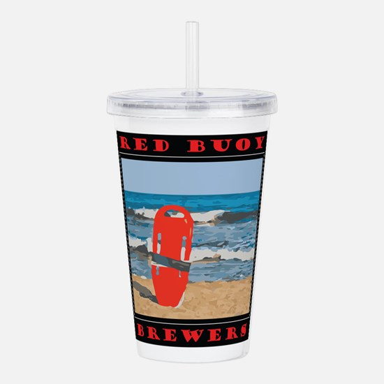 Unique Craft beer Acrylic Double-wall Tumbler