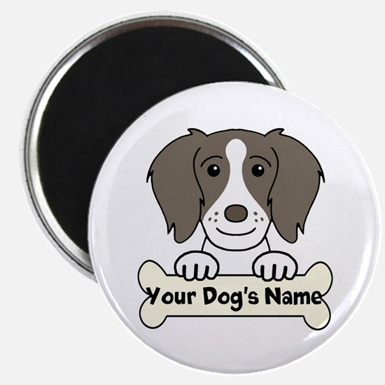 Personalized Brittany Spaniel Magnet