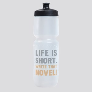 Write That Novel Sports Bottle