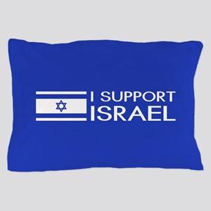 I Support Israel (Blue) Pillow Case