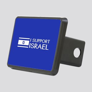 I Support Israel (Blue) Rectangular Hitch Cover