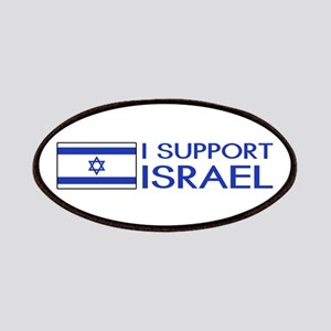 I Support Israel (White) Patch