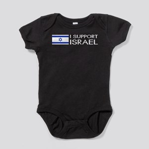 I Support Israel (White) Body Suit