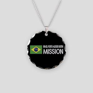 Brazil, Porto Alegre North M Necklace Circle Charm