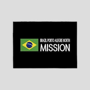 Brazil, Porto Alegre North Mission 5'x7'Area Rug