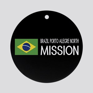 Brazil, Porto Alegre North Mission Round Ornament