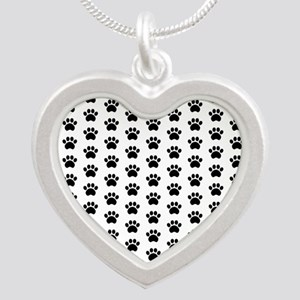 Paw Print Pattern Necklaces