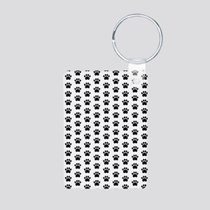 Paw Print Pattern Keychains