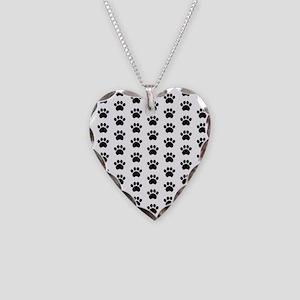 Paw Print Pattern Necklace
