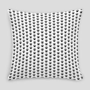 Paw Print Pattern Everyday Pillow