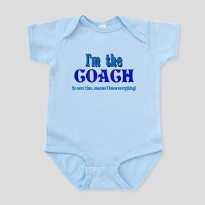 I'm the Coach -Blue Body Suit