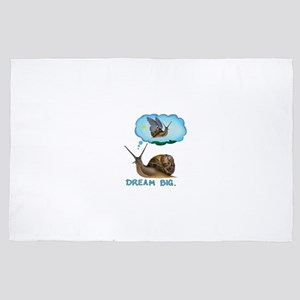 dream big snail 4' x 6' Rug
