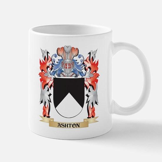 Ashton Coat of Arms - Family Crest Mugs