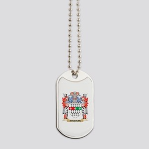 Atkinson Coat of Arms - Family Crest Dog Tags