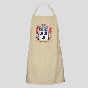Attwell Coat of Arms - Family Crest Apron