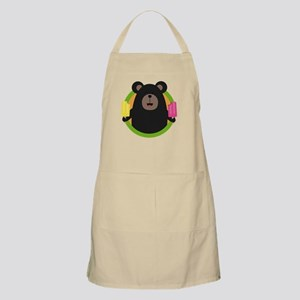 Grizzly with two Popsicle Apron