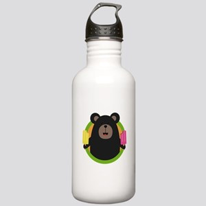 Grizzly with two Popsi Stainless Water Bottle 1.0L
