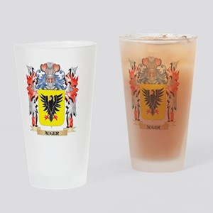 Auger Coat of Arms - Family Crest Drinking Glass