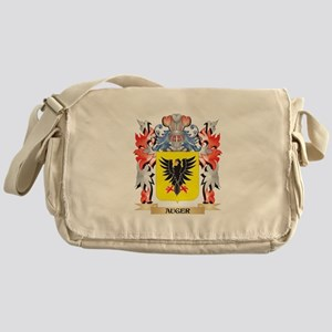 Auger Coat of Arms - Family Crest Messenger Bag