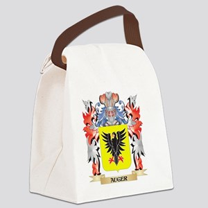 Auger Coat of Arms - Family Crest Canvas Lunch Bag
