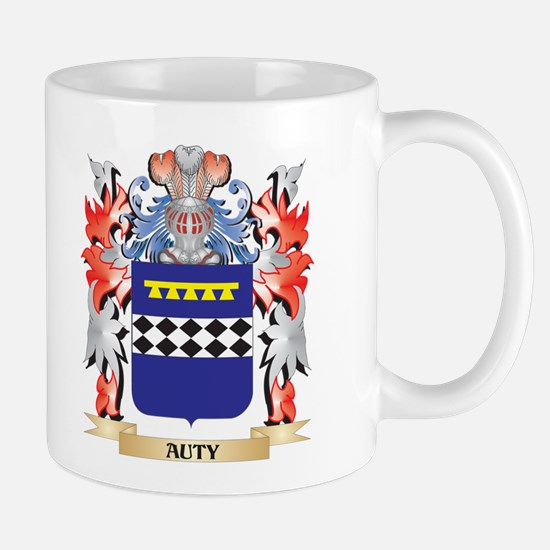 Auty Coat of Arms - Family Crest Mugs