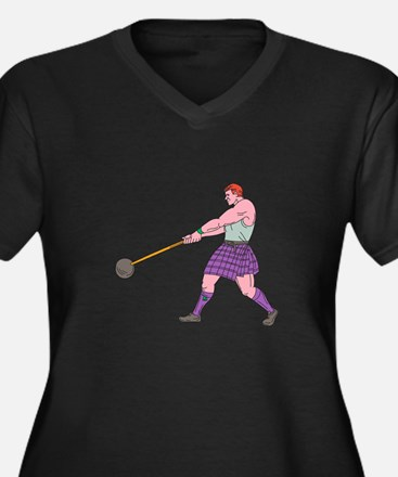Weight Throw Highland Games Athlete Drawing Plus S