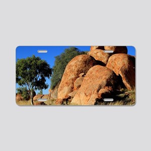 Devil's Marbles, Outbac Aluminum License Plate