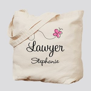 Personalized Lawyer Attorney Gift Tote Bag