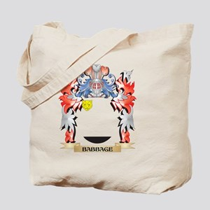 Babbage Coat of Arms - Family Crest Tote Bag