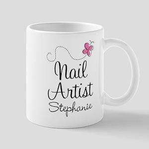 Nail Artist Personalized Gift Mugs