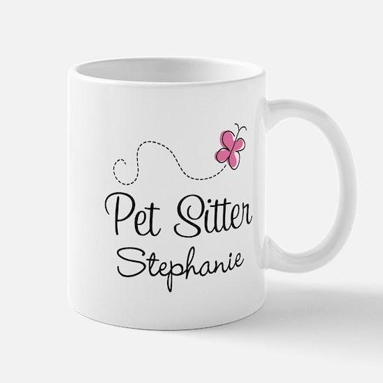 Personalized Pet Sitter Gift Mugs