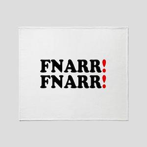 FNARR FNARR - VIZ SPEAK Throw Blanket