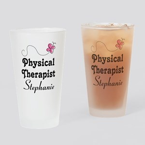 Physical Therapist Personalized gift Drinking Glas