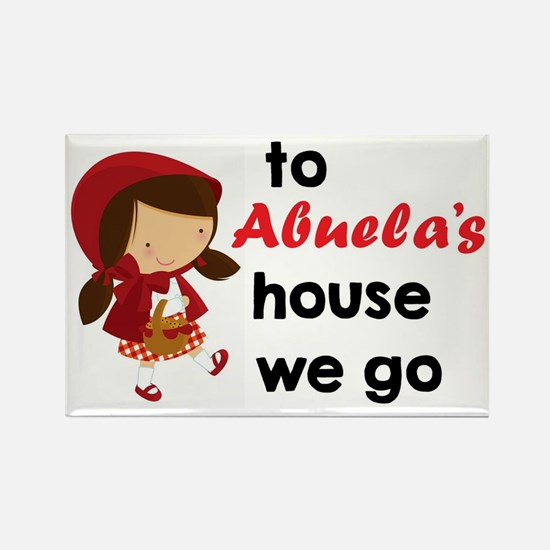 Cute Abuela Rectangle Magnet