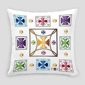 Cross Tiles Everyday Pillow
