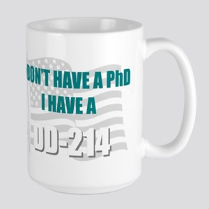 DD 214 PhD DD214 Mugs