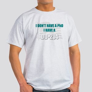 DD 214 PhD DD214 T-Shirt