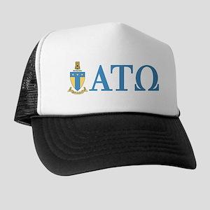 Alpha Tau Omega Letters Trucker Hat