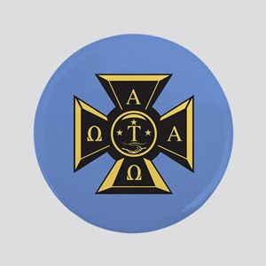 Alpha Tau Omega Emblem Button