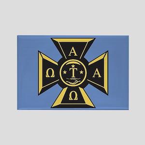 Alpha Tau Omega Emblem Rectangle Magnet