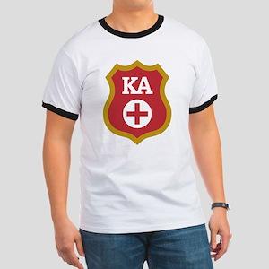 Kappa Alpha Crest Ringer T