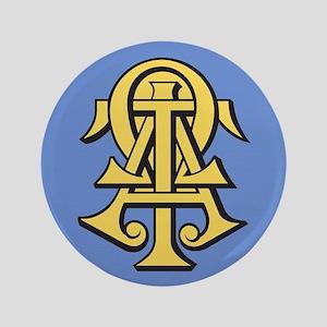 Alpha Tau Omega ATO Letters Button