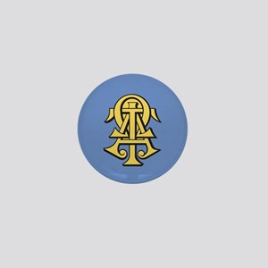 Alpha Tau Omega ATO Letters Mini Button