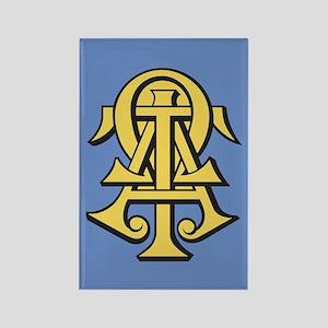 Alpha Tau Omega ATO Letters Rectangle Magnet