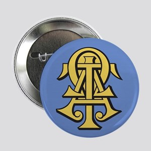 "Alpha Tau Omega ATO Letter 2.25"" Button (100 pack)"