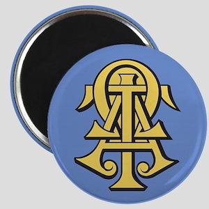 Alpha Tau Omega ATO Letters Magnet