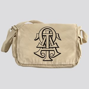 Alpha Tau Omega ATO Letters Messenger Bag