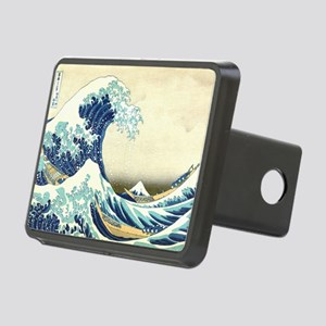 The Great Wave off Kanagaw Rectangular Hitch Cover