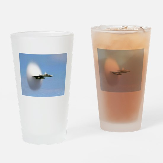 F/A 18 Sonic Boom Drinking Glass